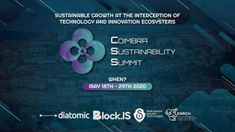 Vabilo na cikel spletnih seminarjev: Coimbra Sustainability Summit 2020