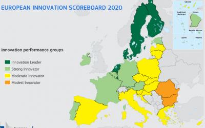 Slovenija ostaja v skupini zmernih inovatork