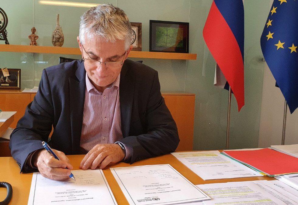 Minister za zdravje Tomaž Gantar podpisal Dveletni sporazum o sodelovanju med Regionalnim uradom Svetovne zdravstvene organizacije (SZO) za Evropo in Ministrstvom za zdravje