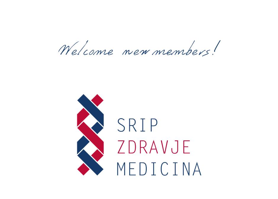 Novi člani v SRIP Zdravje – medicina