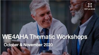 13 tematskih delavnic v okviru projekta WE4AHA – aktivno in zdravo staranje