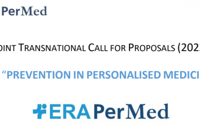 Najava ERA PERMED razpisa Joint Transnational Call for Proposals (2022) for »Prevention in Personalised Medicine«